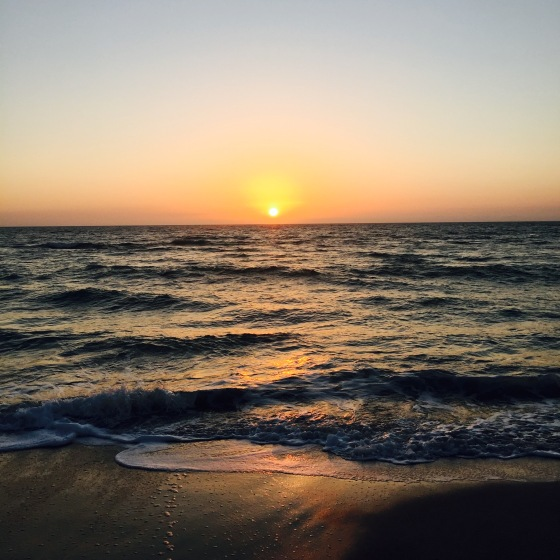 gulf sunset