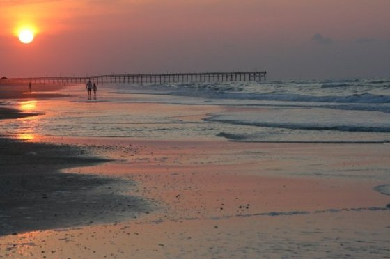 OIB sunset