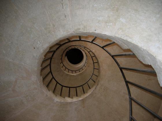 Tivoli spiral staircase